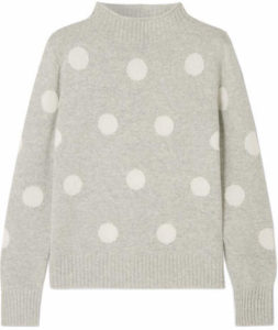 7cf1d07d912 Zimmermann — Unbridled Cable-knit Sweater — Pink J.Crew — Polka-dot Wool-blend  Sweater — Dark gray