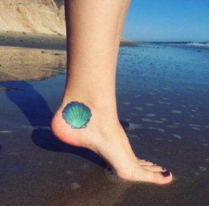 cute girl foot tattoos