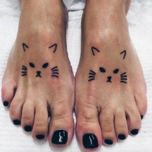 cat katy perry feet tattoo