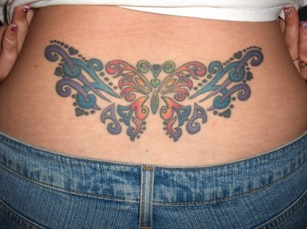 Creative Sexy Tattoos On Women Butt Worldareg Com