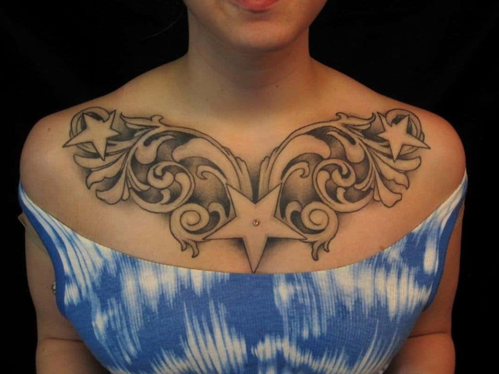 chest tattoo ideas for females