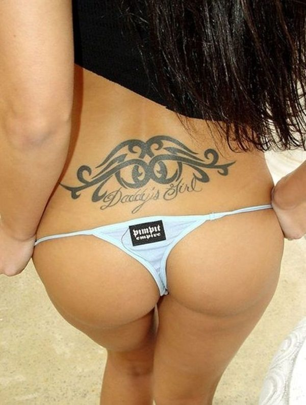 Excelent porn hot ass with tattoos