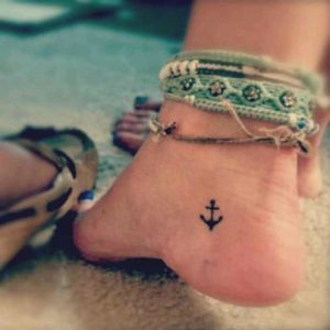 anchor foot tattoo cover up sleeve