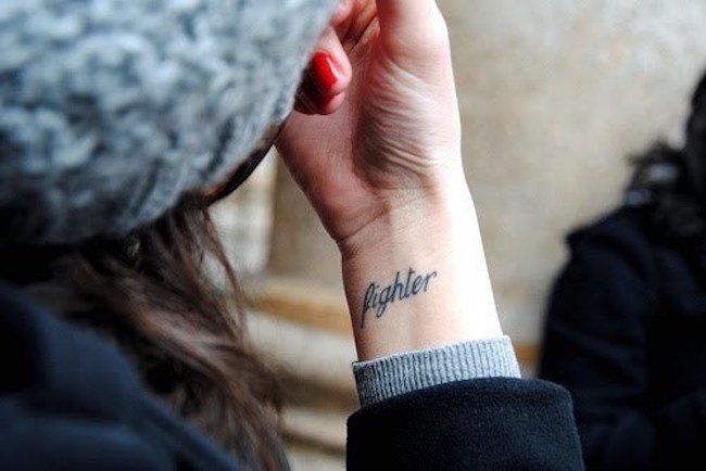 letters wrist tattoo designs for ladies images