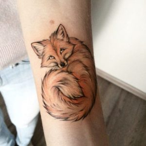 foxy forearm sleeve female designs to get