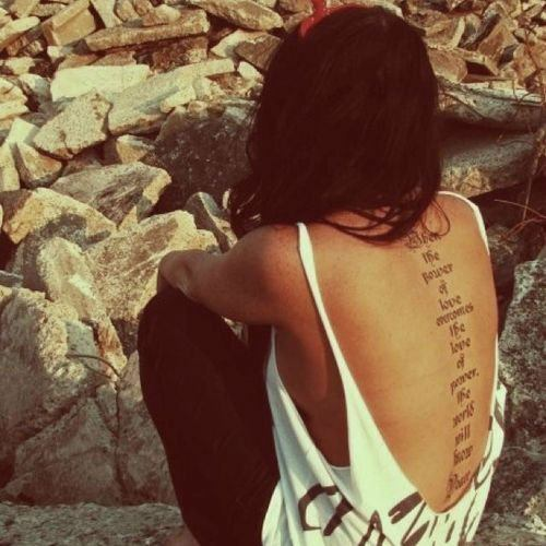 small tattoo designs for girls back