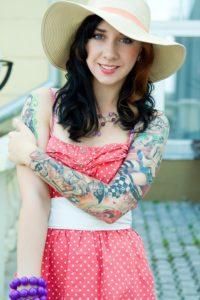 colorful tattoo designs female arm design ideas pictures