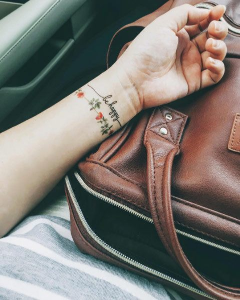 pretty wrist tattoos for ladies images