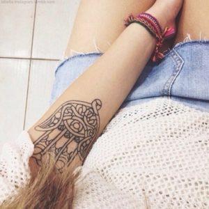 mandala meaningful tattoos for girls