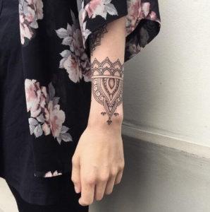 mandala womens forearm tattoo designs