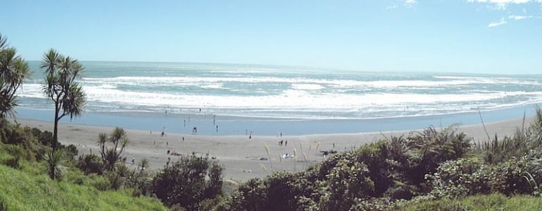 This place is known as the Ultimate Surfing Capital of New Zealand