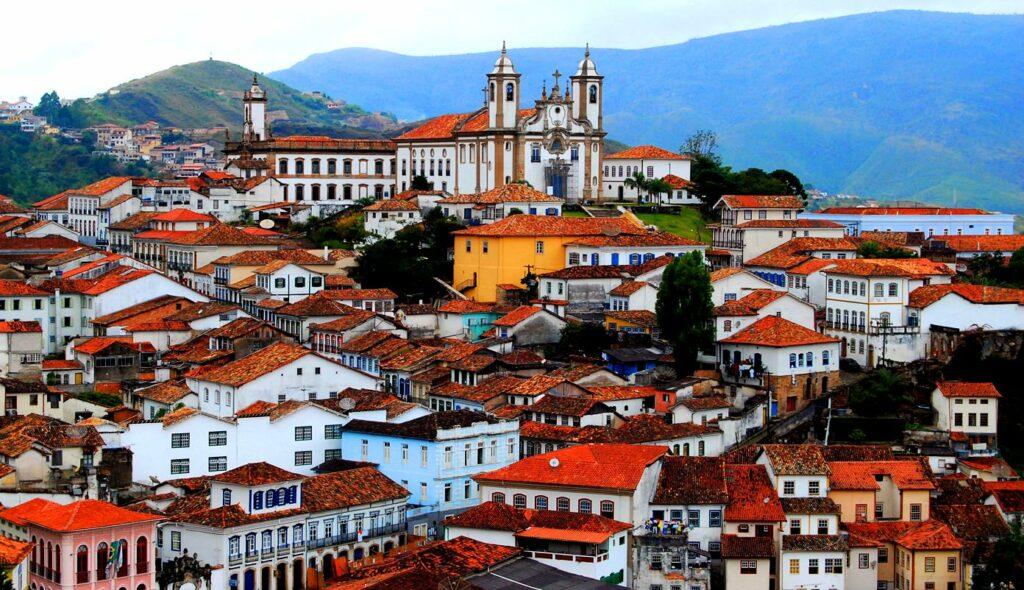 The former capital of Minas Gerais Ouro Preto