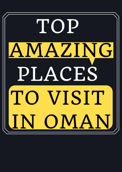 photos of Oman attractions.