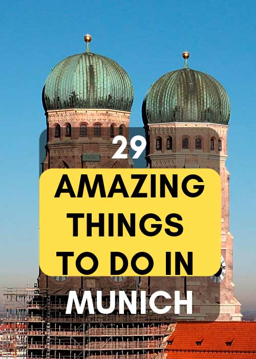 attractions in Munich, Germany