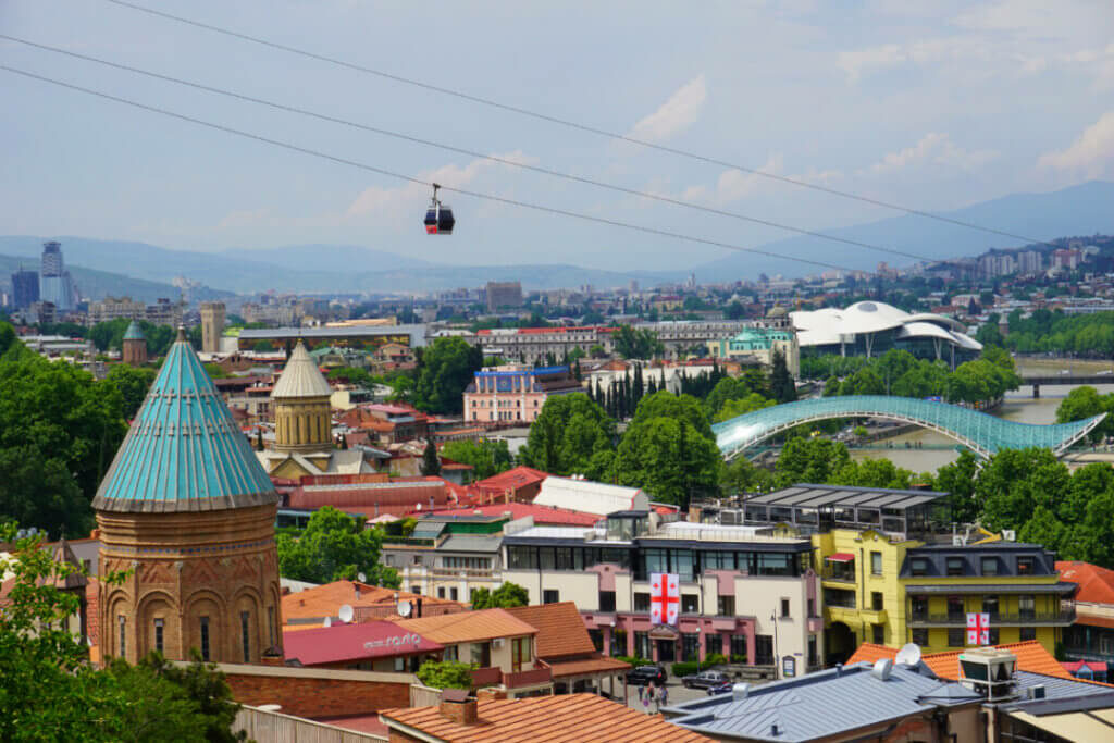 Tbilisi is definitely the top city to visit in Georgia.