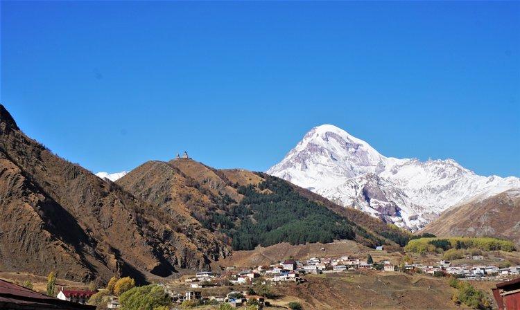 Hike to the Church in Kazbegi