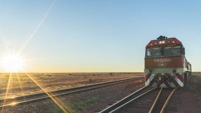 Ride a luxury train across the continent