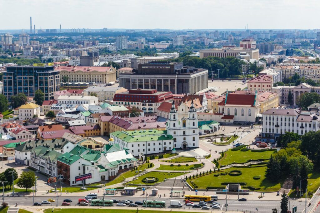Minsk is a beautiful and undiscovered city