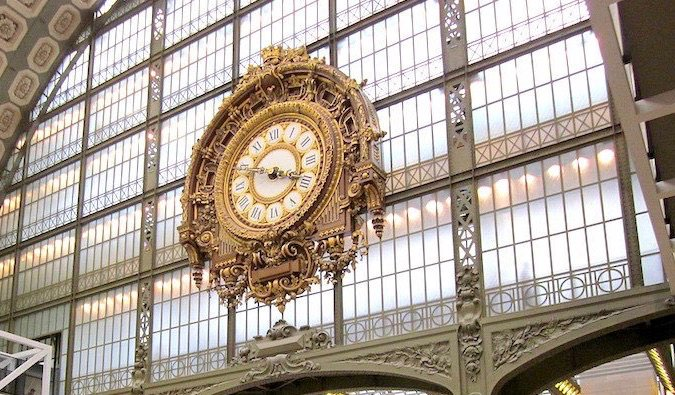 Musée d'Orsay, located