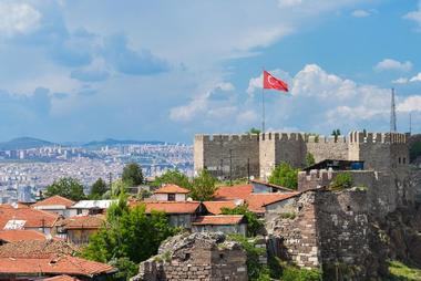 Ankara Castle, or Ankara Kalesi, is a fortification