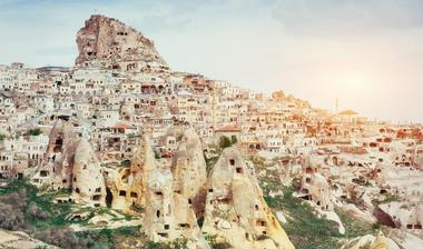 The historical region of Cappadocia can be found in Central Anatolia