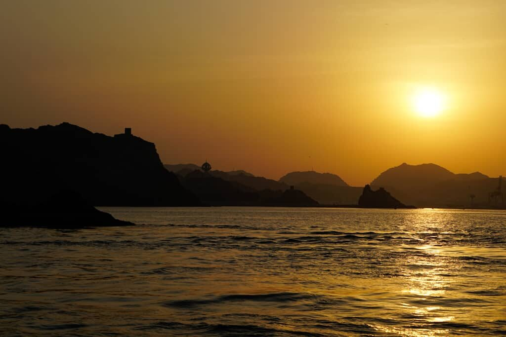 Sunset Dhow Cruise, Muscat