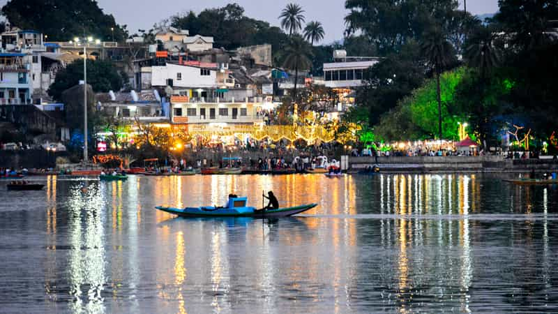 Mount Abu, situated on a high rocky plateau in the Aravalli Range