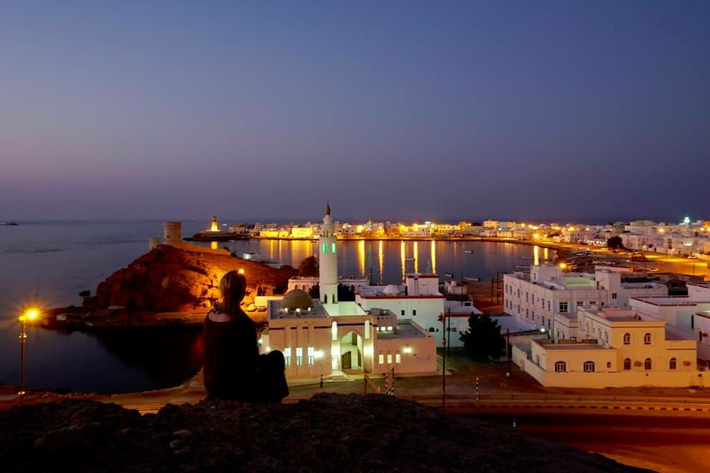 The photogenic city of Sur lies just two hours southeast of Muscat