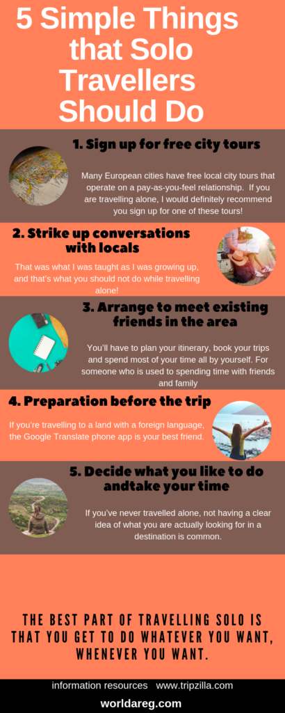 5 Simple Things that Solo Travellers Should Do on Their Trip