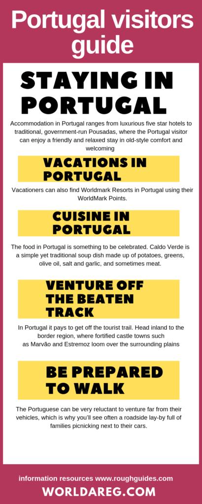 Portugal visitors guide