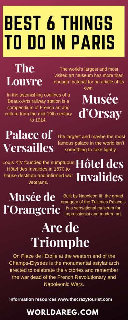 Paris bucket list top destination