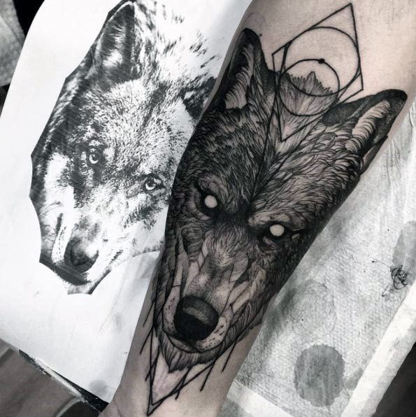 best Amazing Wolf Tattoo Ideas For Men
