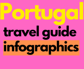 8 Portugal travel guide infographics information picture