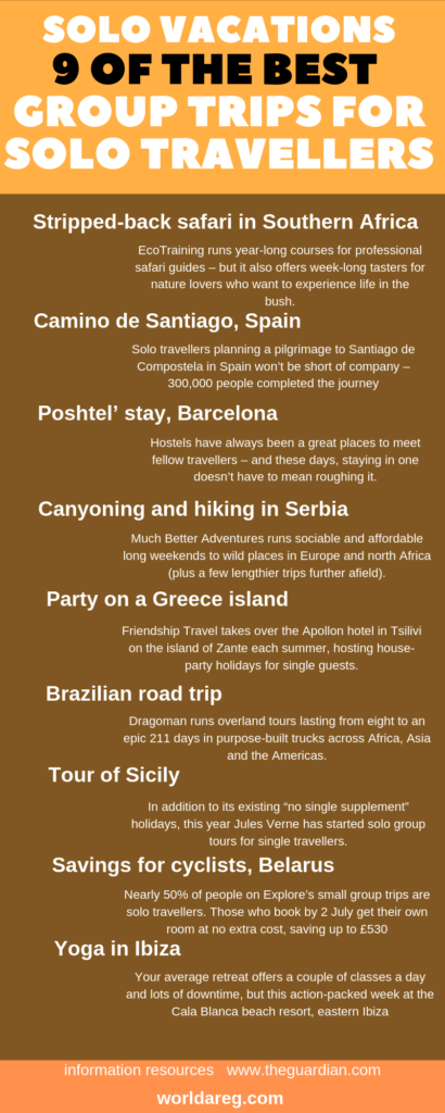 9 of the best group trips for solo travellers