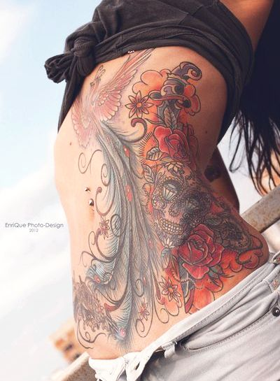 Hottest Stomach Tattoos For Women
