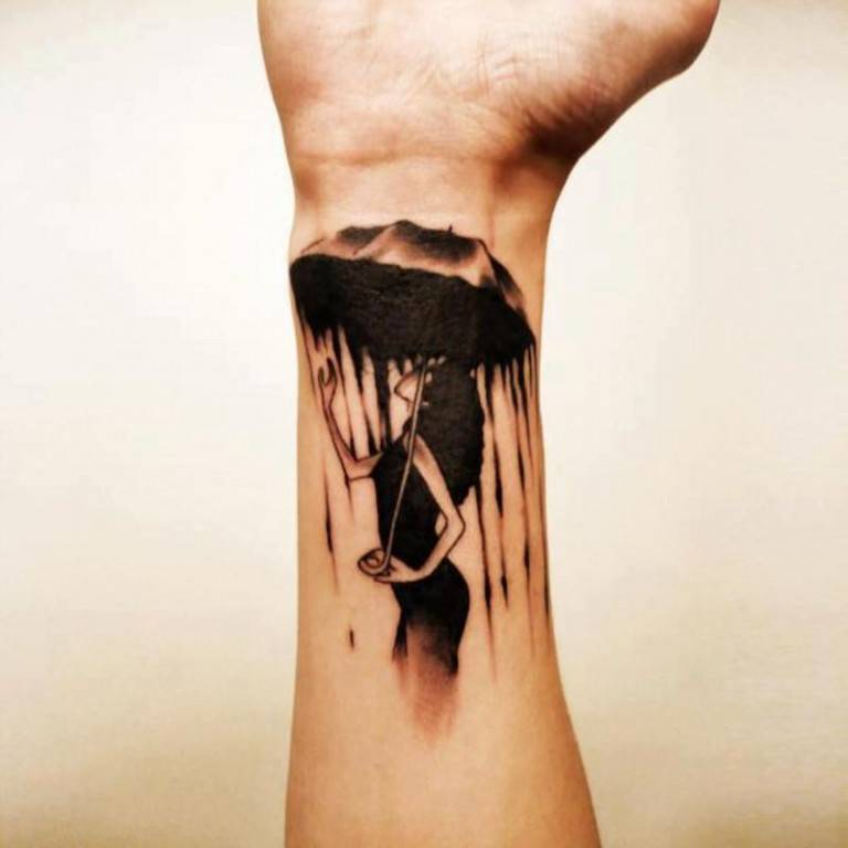 Wrist Tattoos For Men design
