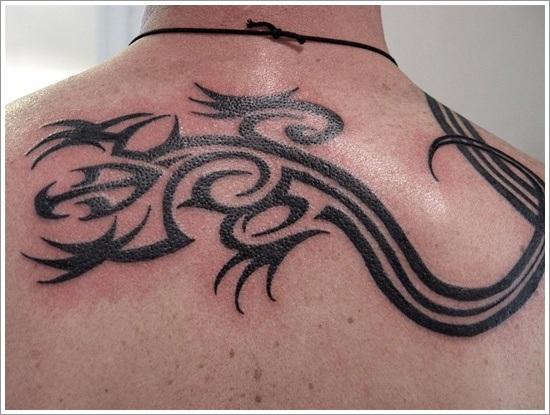 Lizard Tattoo Designs For Men