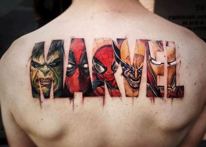 best upper back tattoos for guys