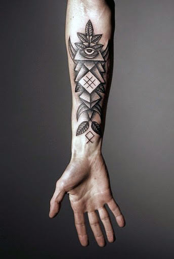 cool indian tattoo designs for male wrist