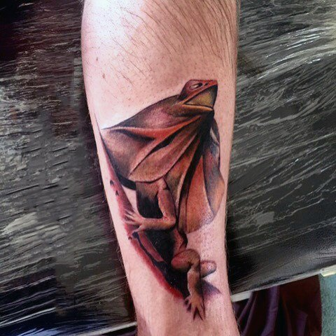 arm Unimaginable Lizard Tattoos for male