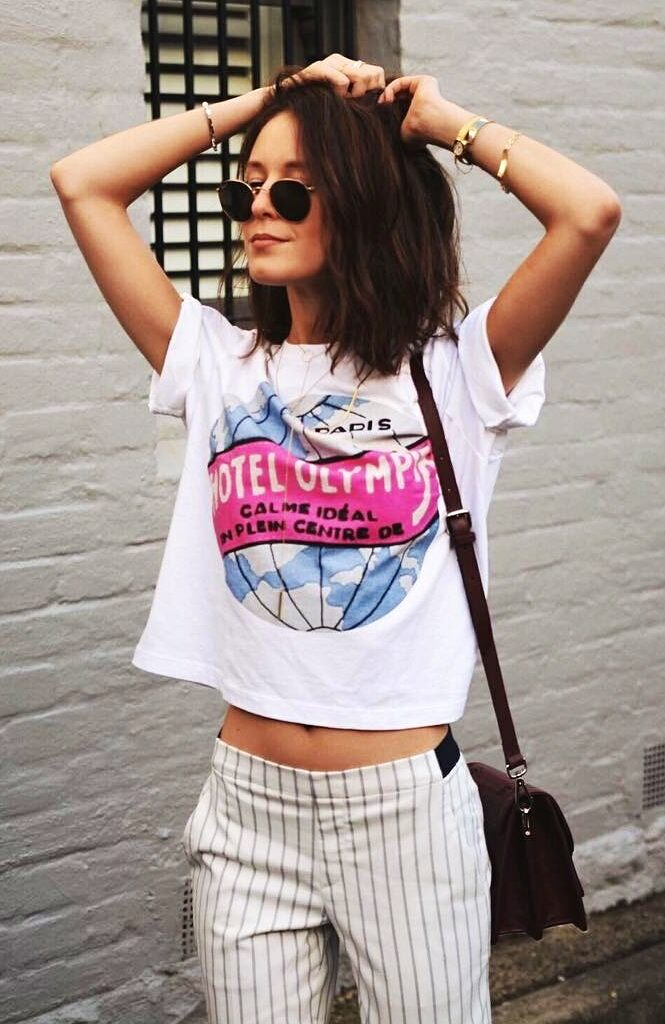 comfortable travel summer outfit