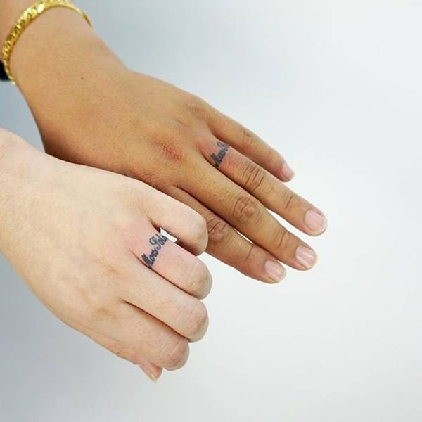 word ring tattoo ideas images