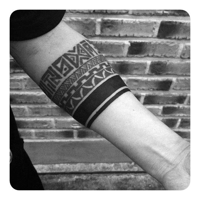 armband tattoo design for man