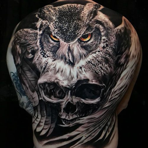 meaningful full back tattoos for guys