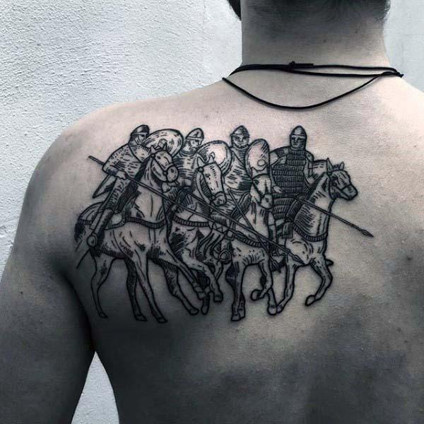 tribal tattoo back designs