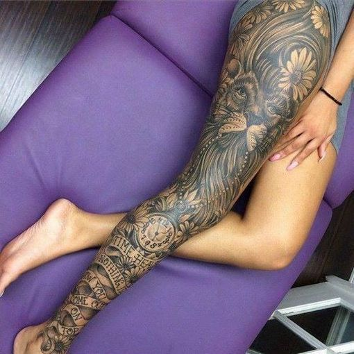 full thigh tattoo prices