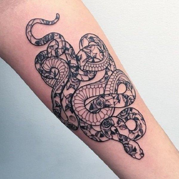 king cobra tattoo designs on arm design