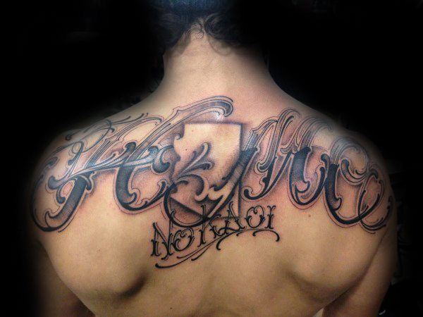 best spine tattoos for guys images