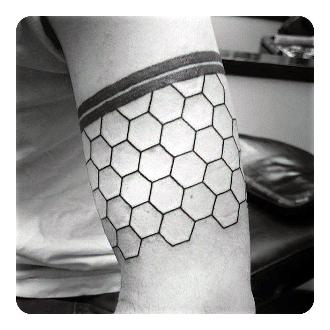 temporary band tattoo