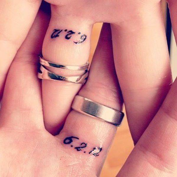 best engagement ring finger tattoos